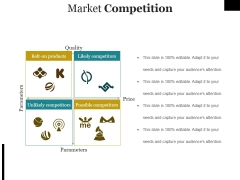 Market Competition Ppt PowerPoint Presentation Icon Ideas