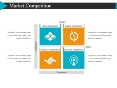 Market Competition Ppt Powerpoint Presentation Show Format
