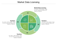 Market Data Licensing Ppt PowerPoint Presentation Icon Gridlines Cpb Pdf