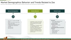 Market Demographics Behavior And Trends Related To Zoo Ppt Outline Designs Download PDF