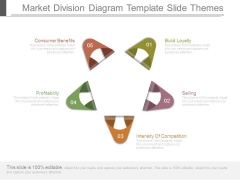 Market Division Diagram Template Slide Themes