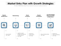 Market Entry Plan With Growth Strategies Ppt PowerPoint Presentation Layout PDF