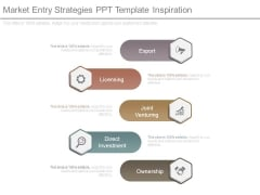 Market Entry Strategies Ppt Template Inspiration