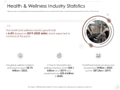 Market Entry Strategy Gym And Fitness Clubs Industry Health Wellness Industry Statistics Formats PDF