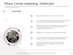 Market Entry Strategy Gym Health Clubs Industry Fitness Center Marketing Distribution Elements PDF