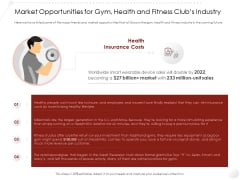 Market Entry Strategy In Market Opportunities For Gym Health And Fitness Clubs Industry Sample PDF