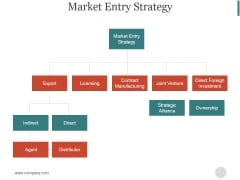 Market Entry Strategy Ppt PowerPoint Presentation Inspiration