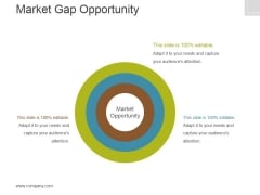 Market Gap Opportunity Template 2 Ppt PowerPoint Presentation Deck