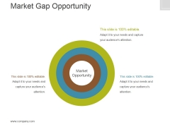 Market Gap Opportunity Template 2 Ppt PowerPoint Presentation Deck