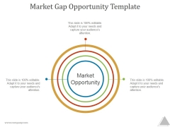 Market Gap Opportunity Template Ppt PowerPoint Presentation Example