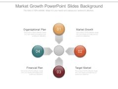 Market Growth Powerpoint Slides Background