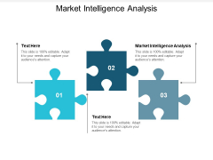 Market Intelligence Analysis Ppt PowerPoint Presentation Outline Influencers Cpb
