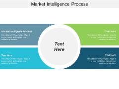 Market Intelligence Process Ppt Powerpoint Presentation Ideas Designs Cpb