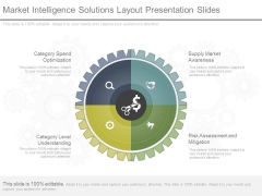Market Intelligence Solutions Layout Presentation Slides