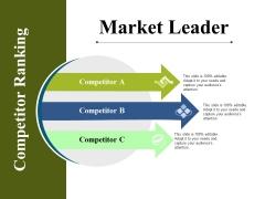 Market Leader Ppt PowerPoint Presentation Summary Brochure