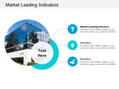 Market Leading Indicators Ppt PowerPoint Presentation Model Maker Cpb