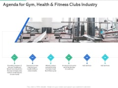 Market Overview Fitness Industry Agenda For Gym Health And Fitness Clubs Industry Template PDF