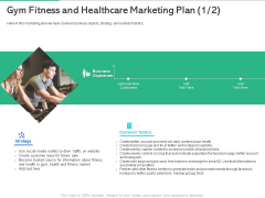 Market Overview Fitness Industry Gym Fitness And Healthcare Marketing Plan Strategy Formats PDF