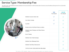 Market Overview Fitness Industry Service Type Membership Fee Ppt Infographic Template Diagrams PDF