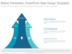 Market Penetration Powerpoint Slide Design Templates