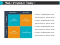 Market Penetration Strategy Ppt Powerpoint Presentationmodel Brochure