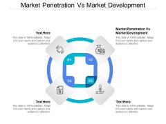 Market Penetration Vs Market Development Ppt PowerPoint Presentation Slides Format Cpb