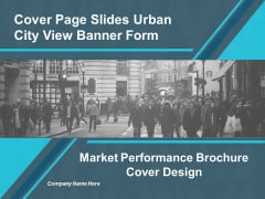 Market Performance Brochure Cover Design Ppt Powerpoint Presentation Layouts Icons
