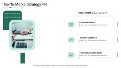 Market Potential Analysis Go To Market Strategy External Activities Ppt Diagram Lists PDF