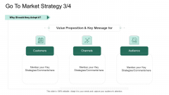 Market Potential Analysis Go To Market Strategy Value Proposition Ppt Styles Elements PDF