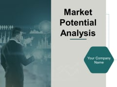 Market Potential Analysis Ppt PowerPoint Presentation Complete Deck With Slides
