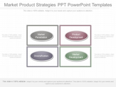Market Product Strategies Ppt Powerpoint Templates