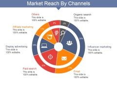 Market Reach By Channels Ppt PowerPoint Presentation Icon Gridlines
