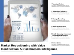 Market Repositioning With Value Identification And Stakeholders Intelligence Ppt PowerPoint Presentation Infographics Slide Portrait