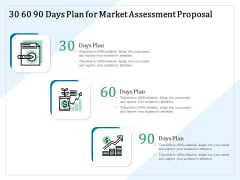 Market Research 30 60 90 Days Plan For Market Assessment Proposal Ppt PowerPoint Presentation Outline Example Topics PDF