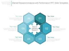 Market Research Analysis With Performance Ppt Slide Templates