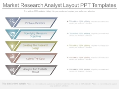 Market Research Analyst Layout Ppt Templates