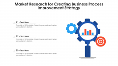 Market Research For Creating Business Process Improvement Strategy Ppt PowerPoint Presentation Gallery Show PDF