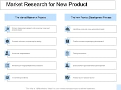 Market Research For New Product Ppt PowerPoint Presentation File Outline