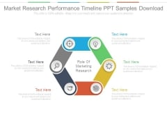 Market Research Performance Timeline Ppt Samples Download