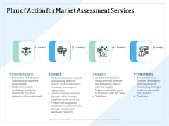 Market Research Plan Of Action For Market Assessment Services Ppt PowerPoint Presentation Inspiration Files PDF