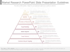 Market Research Powerpoint Slide Presentation Guidelines