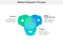 Market Research Process Ppt PowerPoint Presentation File Ideas Cpb