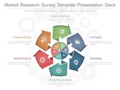 Market Research Survey Template Presentation Deck