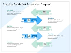 Market Research Timeline For Market Assessment Proposal Ppt PowerPoint Presentation Summary Icon PDF