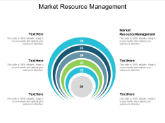 Market Resource Management Ppt PowerPoint Presentation Professional Slide Download Cpb