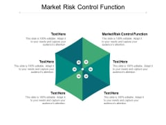 Market Risk Control Function Ppt PowerPoint Presentation Slides Background Cpb
