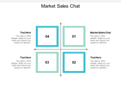 Market Sales Chat Ppt PowerPoint Presentation Pictures Slides Cpb