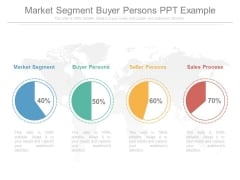 Market Segment Buyer Persons Ppt Example