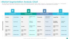 Market Segmentation Analysis Chart Download PDF