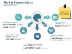 Market Segmentation Business Markets Ppt PowerPoint Presentation Gallery Themes